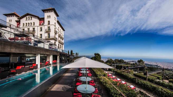 Vista exterior - TB Bar - Grand Hotel La Florida, Barcelona