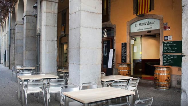Vista terraza - La Nova LLarga, Girona