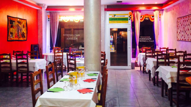 Salle du restaurant - Sonar Bangla, Strasbourg