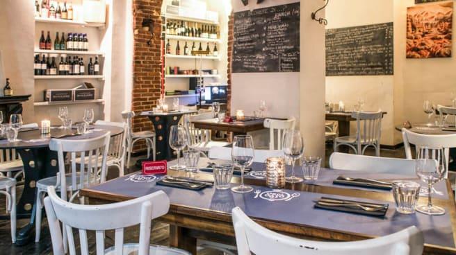 Sala del ristorante - Caffè dell'Orologio, Torino