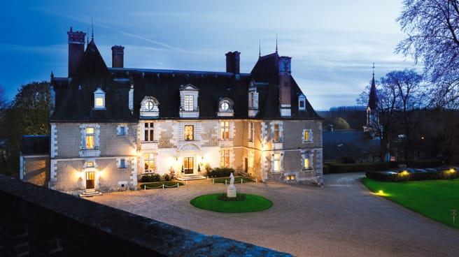 Chateau vue de nuit - Château de Noizay