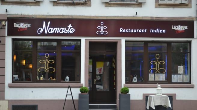 Devanture - Namaste, Strasbourg