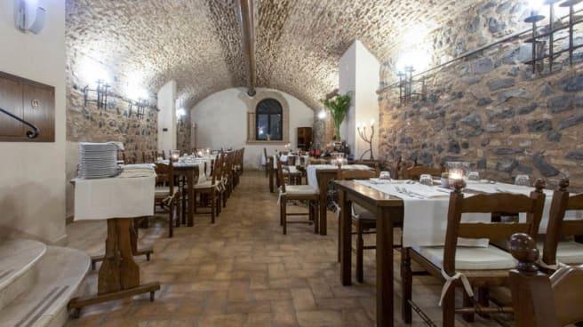 Vista della sala - La Taverna Relais Castrum Boccea, Roma