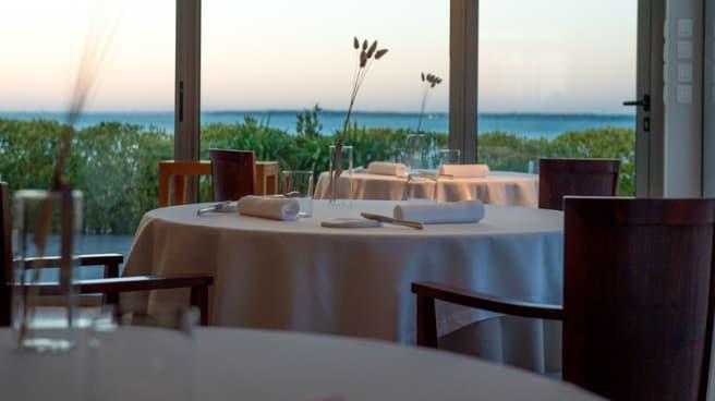 Vue de la salle - Hôtel - Restaurant Anne De Bretagne
