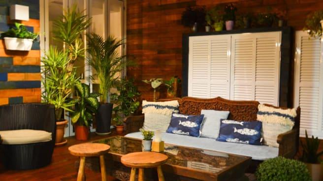 Vista de la sala - Calypso Restaurante