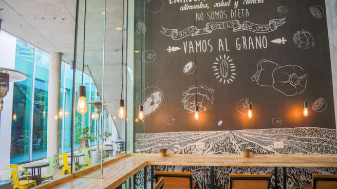 Vista de la sala - Al Grano, Santiago