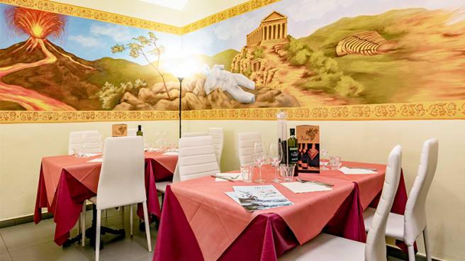 Vista della sala - Eat Sicily, Turin