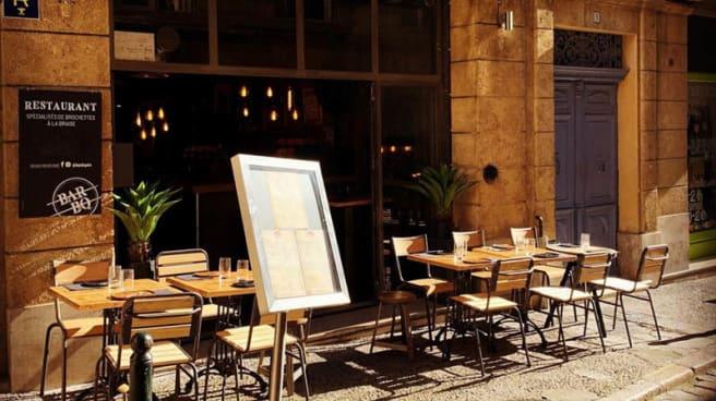 Entrée - Bar Bq, Aix-en-Provence