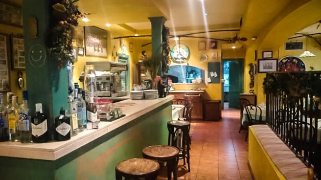 Vista sala - Pizzeria Trattoria Romolo, Las Rozas