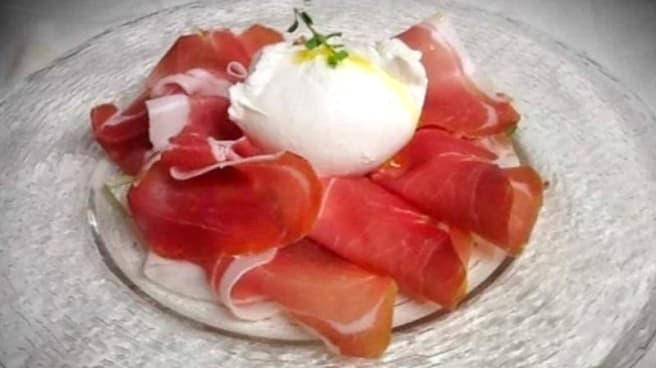 crudo e mozzarella - Pizza Bike, Florence