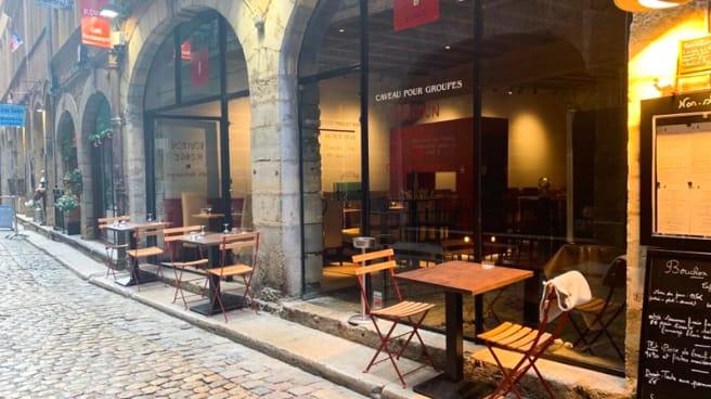 Terrasse - Bouchon Rouge, Lyon