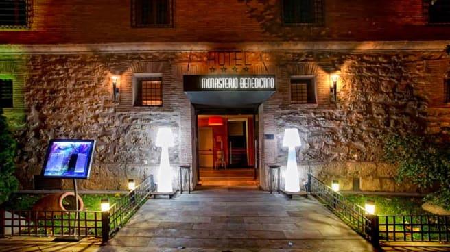 externo - Luz de Led - Hotel Monasterio Benedictino, Calatayud