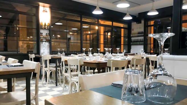 Veduta dell interno - La Cucineria, Rome