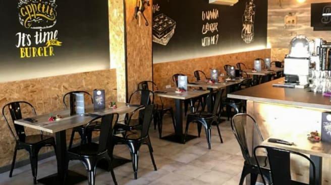 Sala de restaurante - The BlackHouse Burger, Murcia