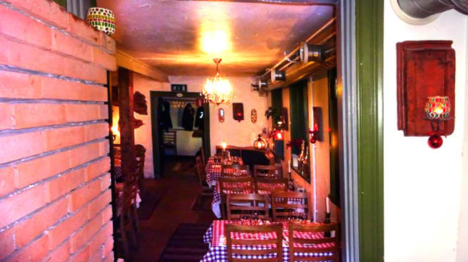 The restaurant - Il Forno Italiano, Uppsala