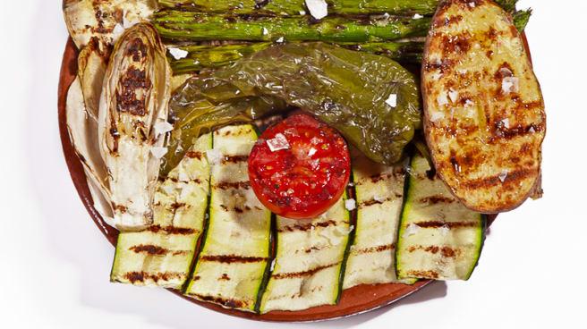Parrillada de verduras - Calsot, Hoyo De Manzanares