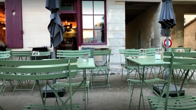 terrasse - La Salamandre, Versailles