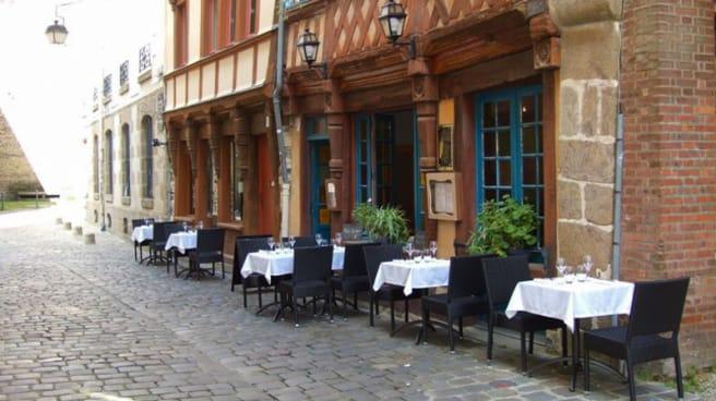Terrasse - Le Saint-Sauveur, Rennes