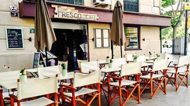 Vista terraza - Fresco Cafe, Palma de Mallorca
