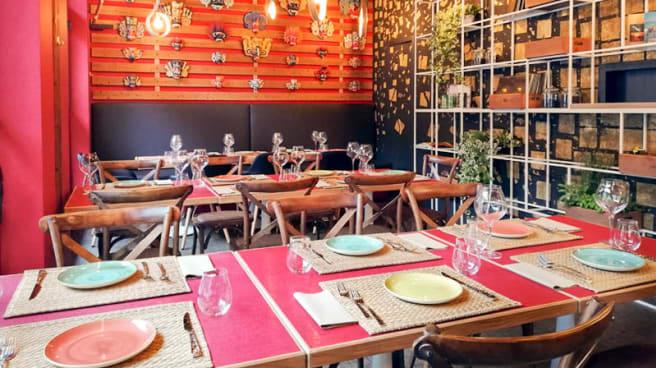 Il ristorante - Aliya Lanka, Monza