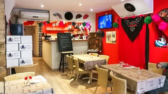 Salle du restaurant - Tablao Flamenco, Narbonne