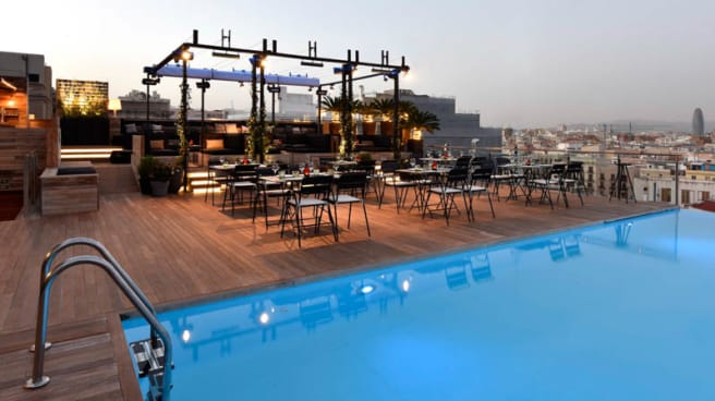 terraza - Sky Bar - Grand Hotel Central, Barcelona