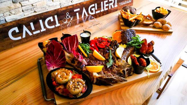 Tagliere fiorentina and friends, gran grigliata di carne - Calici & Taglieri, Trapani