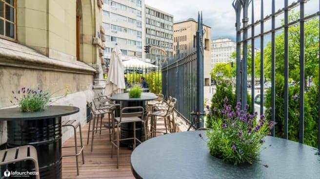 Terrasse - Las Ramblas de Ginebra - Chez Calvin, Genève