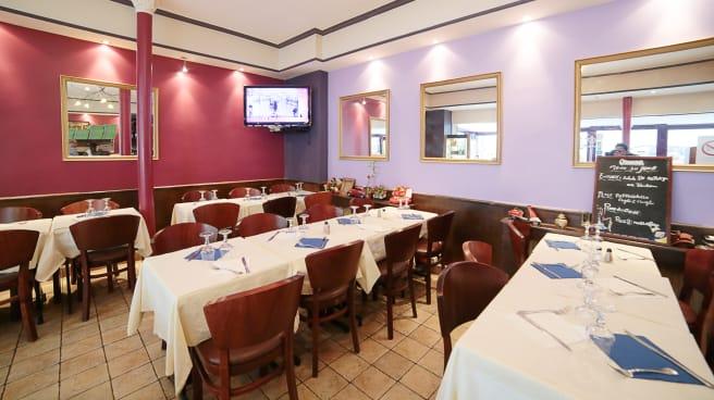 Intérieur Romanella Pizzeria - Romanella, Paris