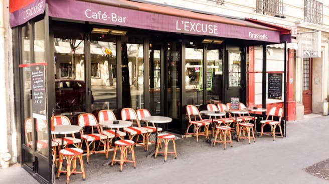 Terrasse - L'Excuse, Paris