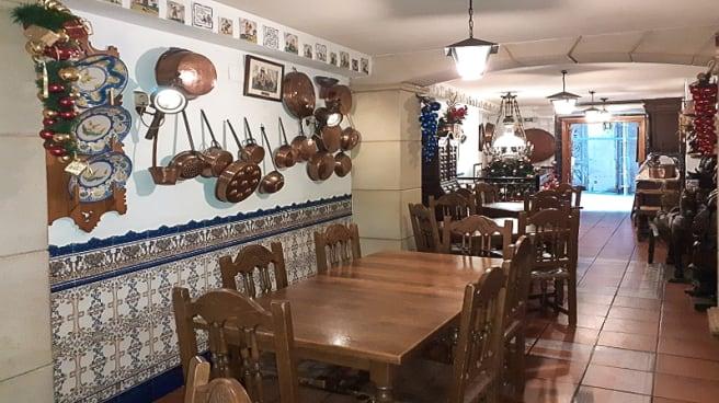 Sala del restaurante - Mesón de los labradores, Alicante (Alacant)