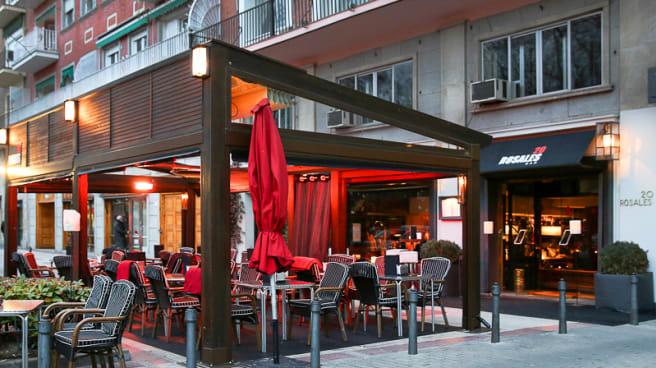 Vista terraza - Rosales 20, Madrid