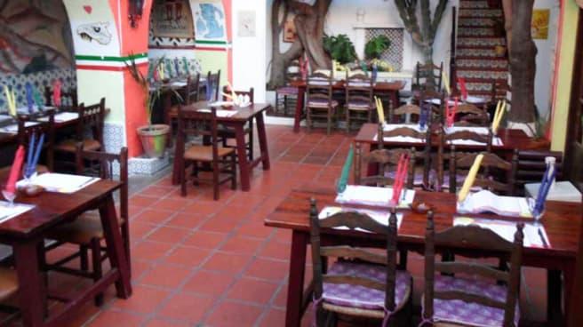 Vista sala - El Paso Mexicano, Fuengirola