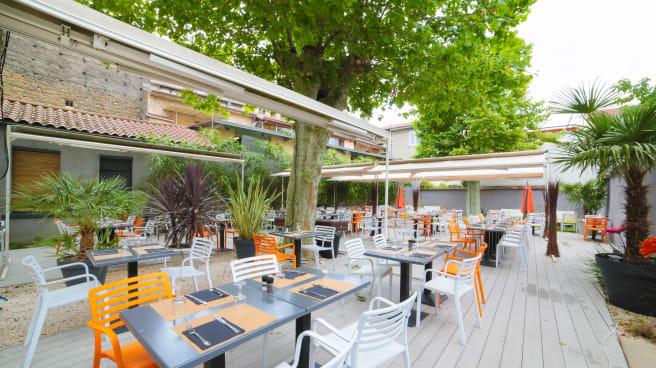 En terrasse - O Jardin, Lyon