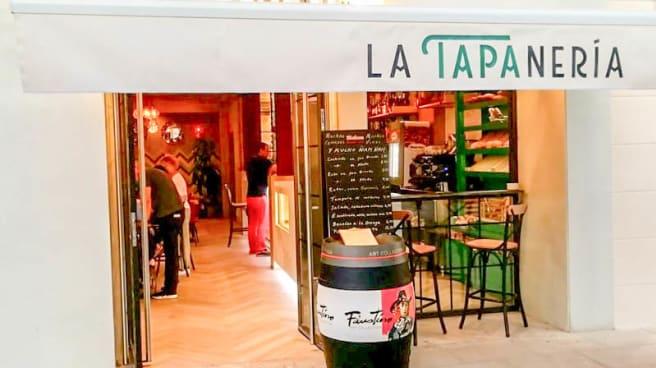 Entrada - La Tapanería, Madrid