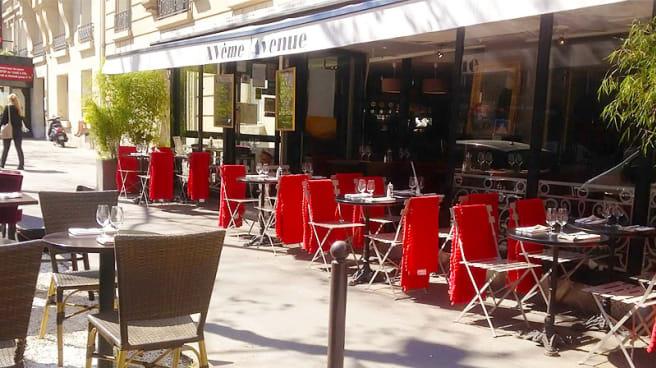 Terrasse ensoleillée - XVème Avenue, Paris