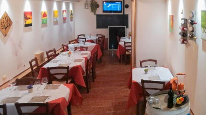 Vista sala - La Taverna, Forlì
