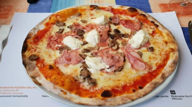 Suggestion de pizza - Ristorante Del Ponte