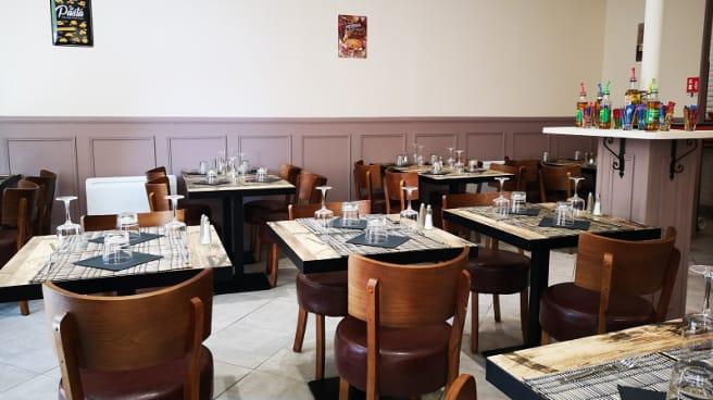 Salle du restaurant - La Douda, Miramas