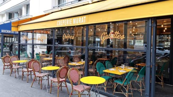 Terrasse - Creperie Murat, Paris