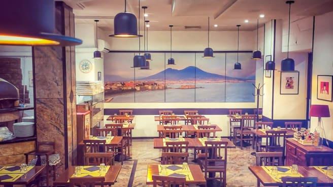 Interno del ristorante - Sapori di Principe, Roma