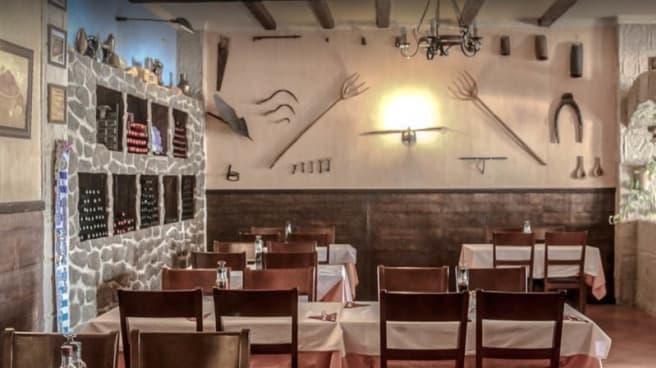 Vue de la salle - Restaurante La Cornisa, Mijas