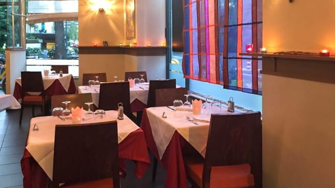 Salle du restaurant - Le Maharadja, Carouge
