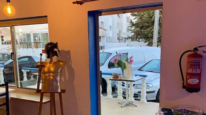 Vista do interior - Braspita Gourmet, Albufeira