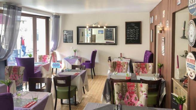 Vista sala - Au Plaisir de la Table, Bergerac