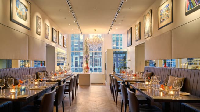 Restaurant - Brasserie Ambassade, Ámsterdam