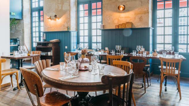 Salle du restaurant - Le Troquet, Bordeaux