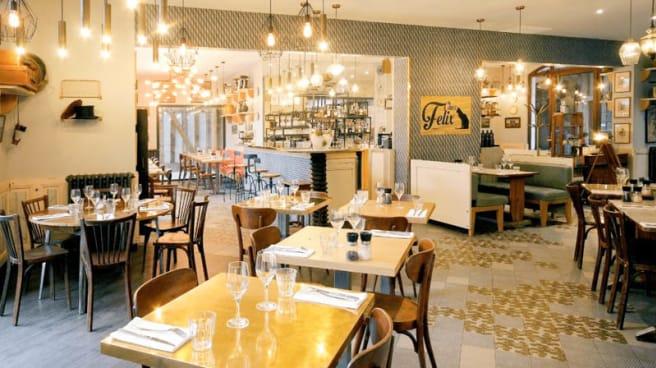 L'intérieur du restaurant - Chez Felix, Troyes