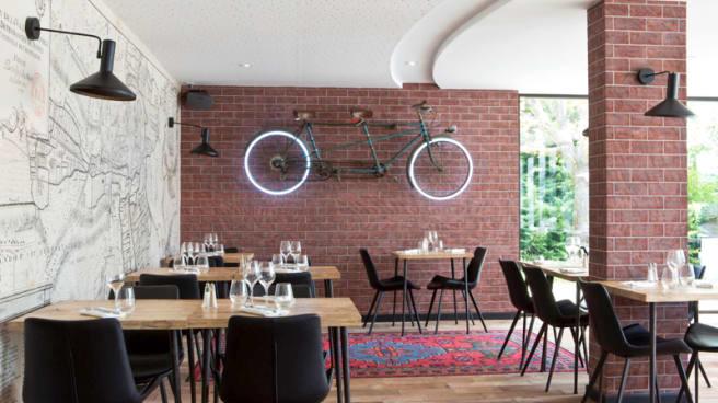 Vue de la salle - Golden Tulip - Restaurant ICI