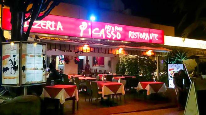 La terraza - Restaurante Pizzeria Picasso Art&Food, Arona (Spain)